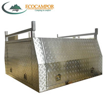 1800x1800x860mm Aluminum Alloy Dual Cab Full Cover pop up canopy
