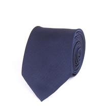 Wholesale mens navy polyester tie