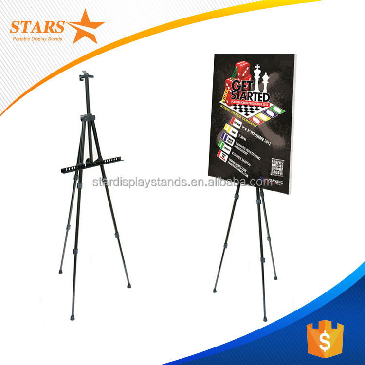 100% Trade Assurance Factory Price Iron <strong>A0</strong> A1 A2 A3 Triangle Display <strong>Poster</strong> <strong>Stand</strong> , Display Rack