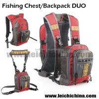 High Quality Fly Fishing Chest/Backpack vest DUO