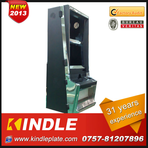 Kindle Professional metal fabrication Game/Coin machine enclosure with 31 years experience