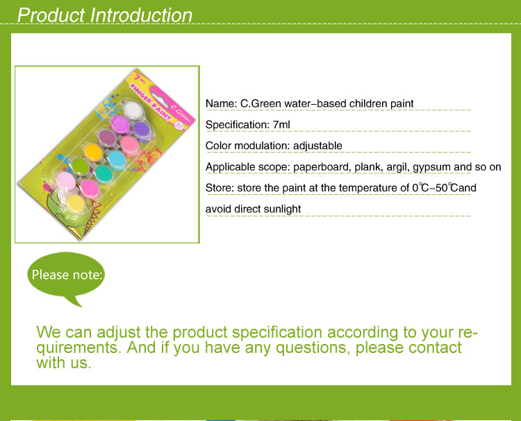 Manufacture Mini Acrylic paint set/ Wholesale Kids paint set