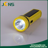 Brightness Flashlight Torch Hand Light Led Torch with Solar Panel