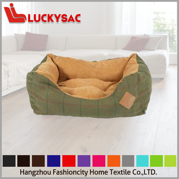 supreme dog bed pet bed with PP fiber filling