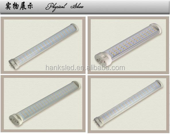 top quality 2g11 led tube 18w 2g11 led plug light fixture high lumen smd 2835 lamp