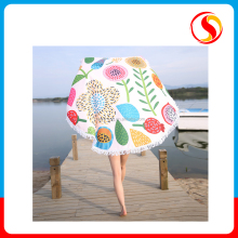 Custom Beach Tower Round/ Donut/ Cotton Dress Towel, The Royal Standard Print Microfiber/Digital Printing Logo Jacquard Fabric