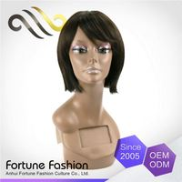 Portable Top Quality Tangle Free Front Silk Top Lace Wig Companies Making Cheap