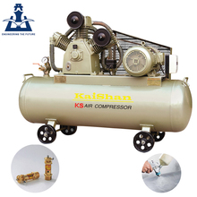 Good quality durable portable 7.5kw piston air compressor for biogas