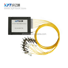 Fiber Optic 100GHz 9+1 CH DWDM MUX/DEMUX Optical Module filters