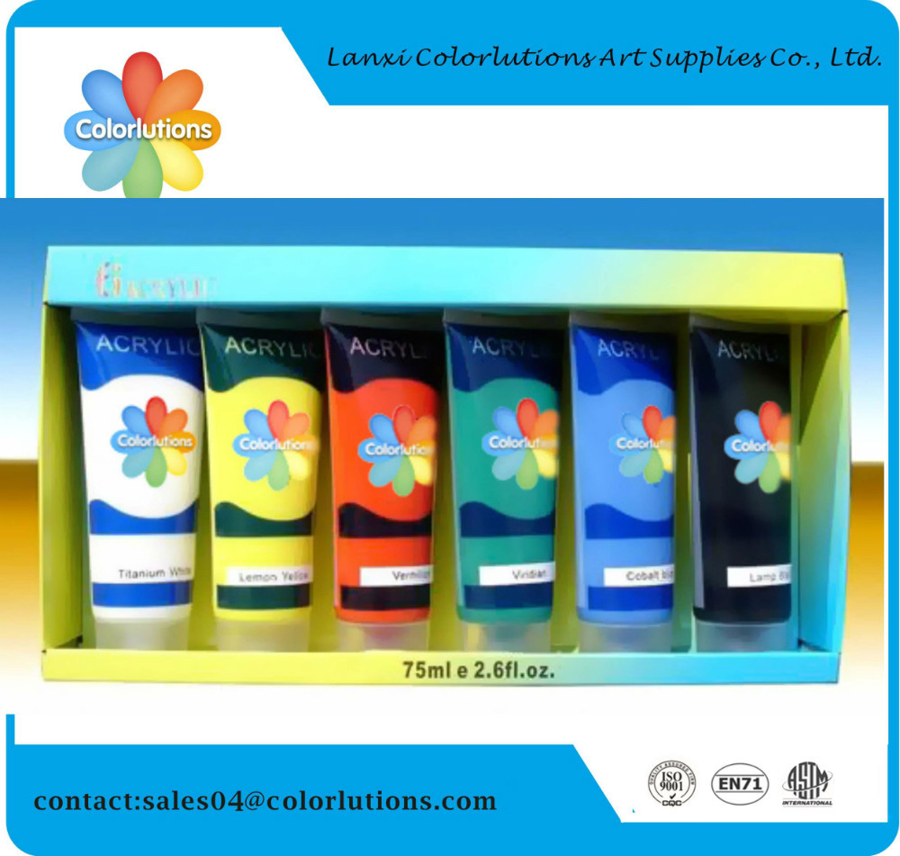 2015 colorlution non toxic good quality acrylic emulsion paint