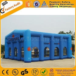 Customized CE approved inflatable party tent inflatable tent house F4109