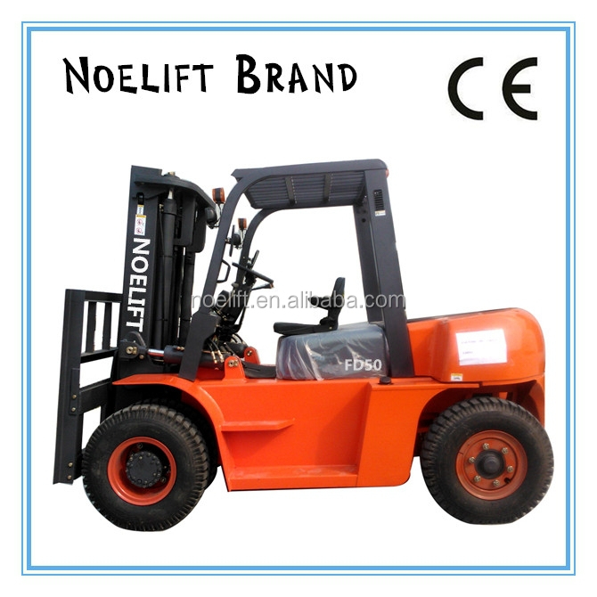 buy the quality 5ton diesel fork lifter 10000lb loading forklift truck