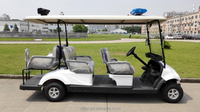 China made 6 people cheap mini electric golf patrol cart for club car