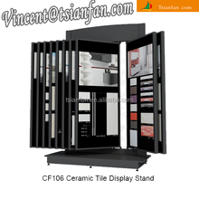 Multipage european style ceramic tile display stand -CF106