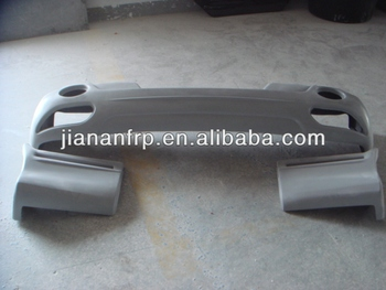 Gel coat finish, sanding finish or painting finish fiberglass body kits