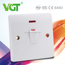 Energy saving Green and eco-friendly isolator switch socket
