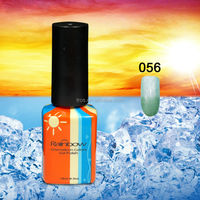 Rainbow amazing soaked nail gel 15ml volume color changing gel chameleon UV nail gel polish NO.56