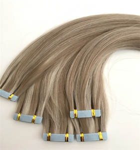 Beautiful Piano Color Tape In Remy Human Hair Weaving Skin Weft Human Hair Extension