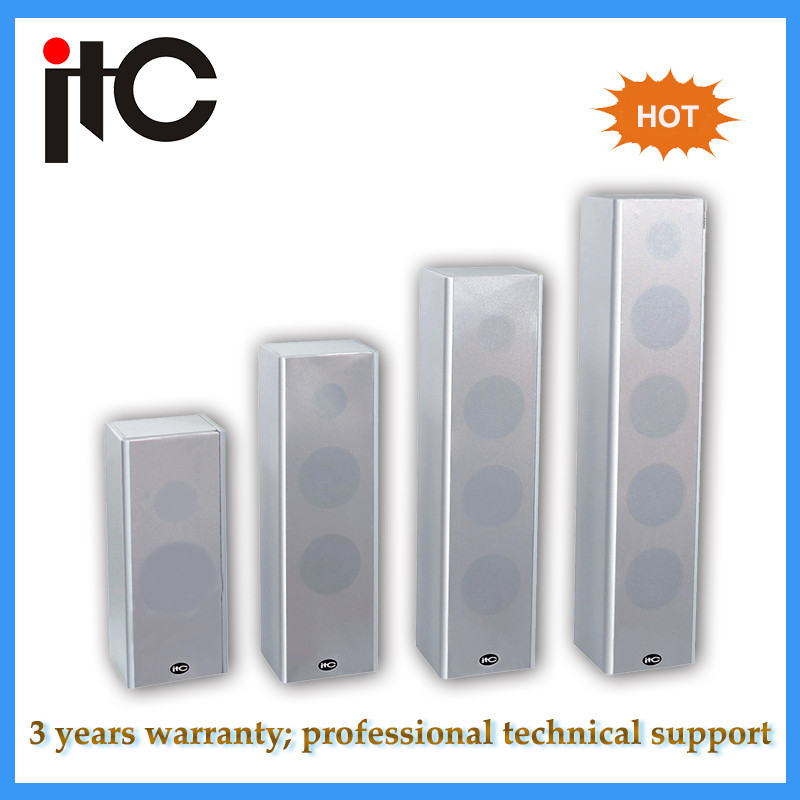 ITC T-301 Professional 10W indoor wooden column speaker