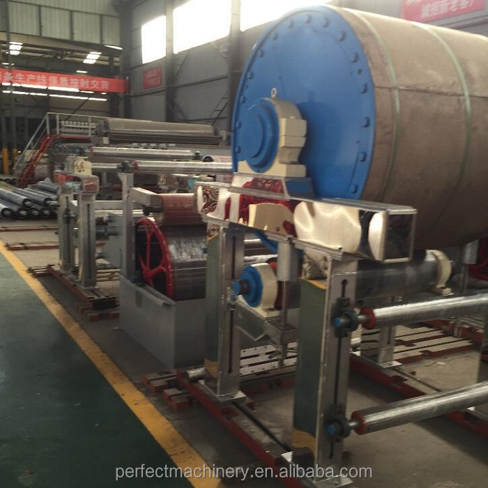 paper recycling mini tissue paper production machinery