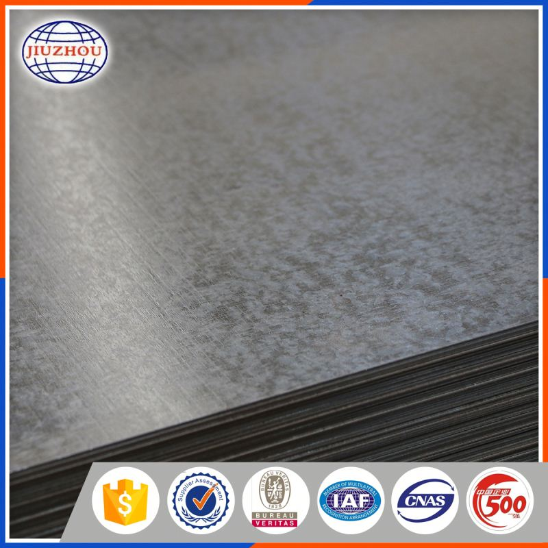 dx51d 6mm thick galvanized steel sheet metal
