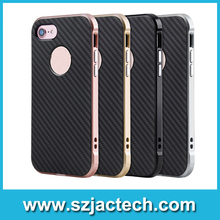 100% OEM brand PC+TPU silicon back cover High quality case for Iphone 5/5se/6/6plus/7/7plus