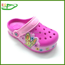 Factory new design eva clogs with light