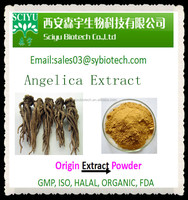 100% Natural chinese Angelica acutiloba extract/angelica extraction powder,Dong Quai Extract