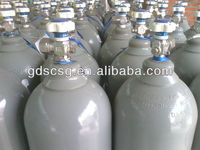 High pressure compressed gas cylinder