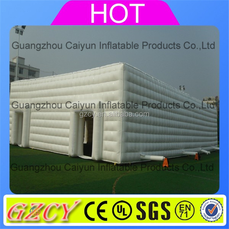 Factory sale inflatable party tent/inflatable event tent/giant cube tent inflatable