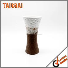 5'' High Ceramic Decorative Vase. ideal GIFT for weddings, party, spa, reiki, meditation