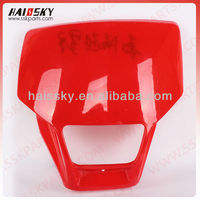 factory price headlight cover for motorcycle