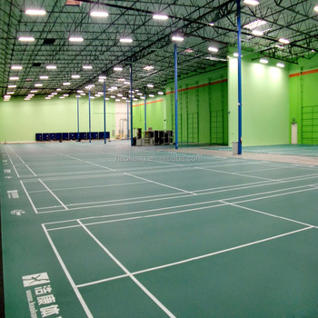BWF Approved Professional PVC Badminton Court Mat with Best Quality