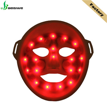 Infrared Light Face and Neck Whitening Facial Mask Face Lifting LED light Therapy Mask