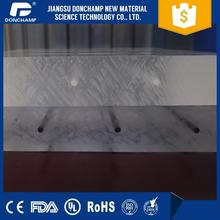Clear acrylic sheet sound barrier board for highway use with double uv-coating