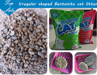 pet cleaning up application high absorption clumping cat litter