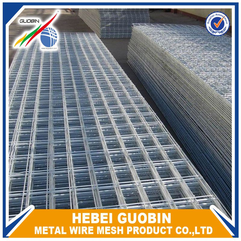 4x4 galvanized welded wire mesh panel fence
