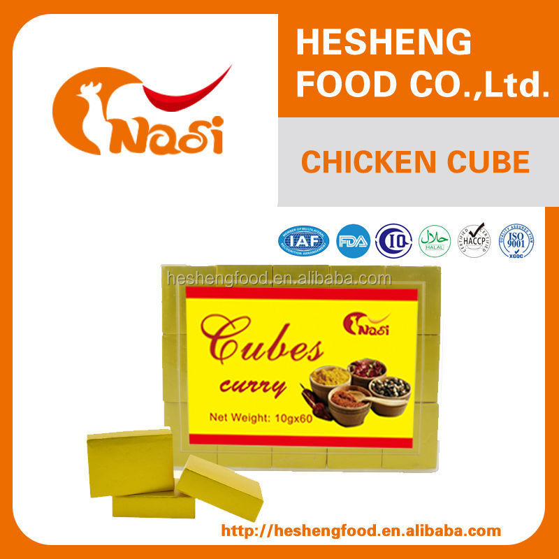 Nasi pakistan spices curry bouillon cube for sale