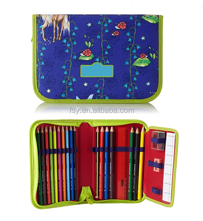 2016 good children patterns pencil bag german pencil case items for school