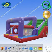 Kids inflatable toys bounce house obstacle course