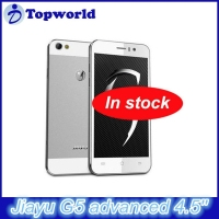 Hot Selling Jiayu G5 Android 4.2 MTK6589T Quad core 1.5GHz OTG 4.5 Inch Gorilla Glass Screen RAM 2GB Mobile phone