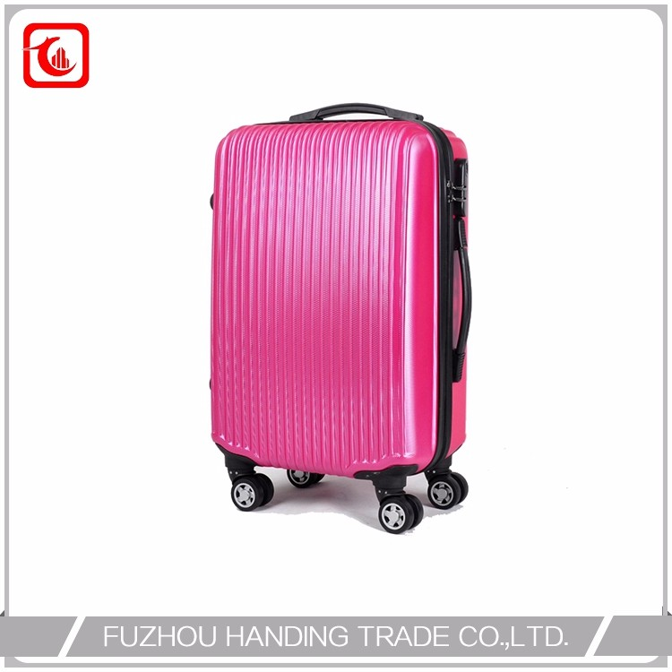 pink girl hard suitcase , pc trolley case