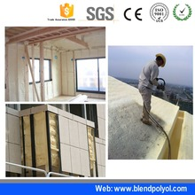 China factory of polyurethane pu soundproofing spray foam spray polyurethane foam
