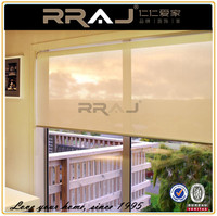 RRAJ Interior Sunscreen Translucent Home Roller Blinds