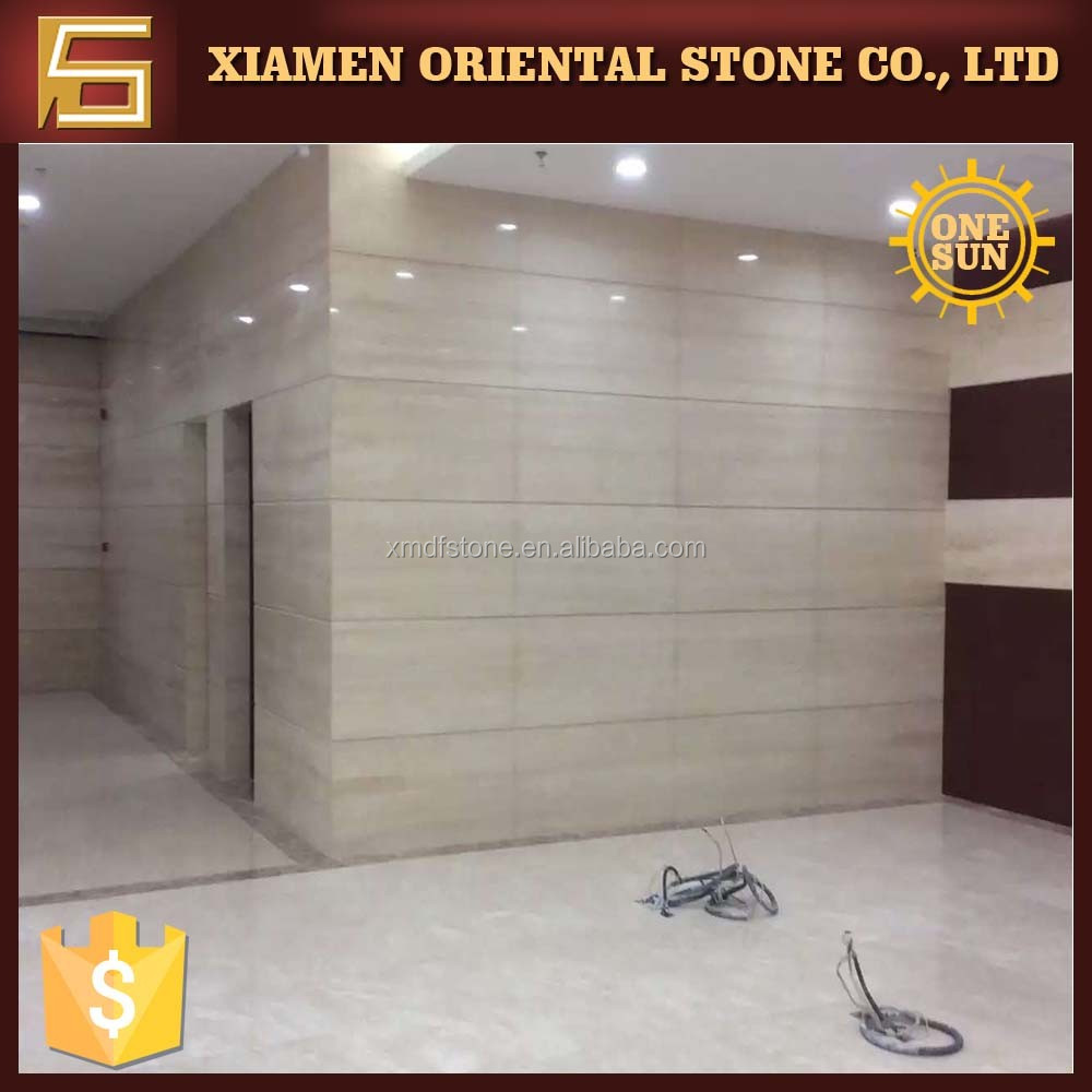 Project material beige travertine marble competitive price