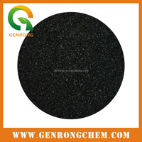 Low Price Shiny Black Powder Flakes Crystal Organic Fertilizer Potassium Humate With High Quality