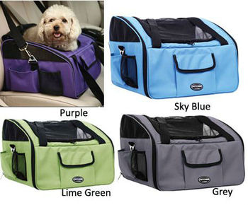 Dog Booster Seat Foldable Pet Bag