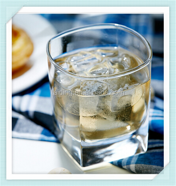 190ml square whisky glass cup alibaba manufacturer whisky glass with high quality