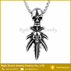 Alibaba Fashion Znic Alloy Punk Style Skull Necklace Pendant Jewelry