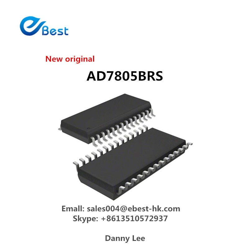 IC Chip Part IC 555 Digital to Analog Converters AD7805 AD7805BRS Integrated Circuits